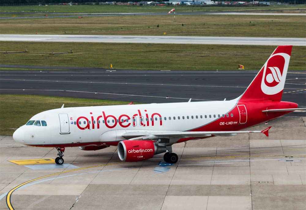 Airbus A319 Air Berlin, OE-LND