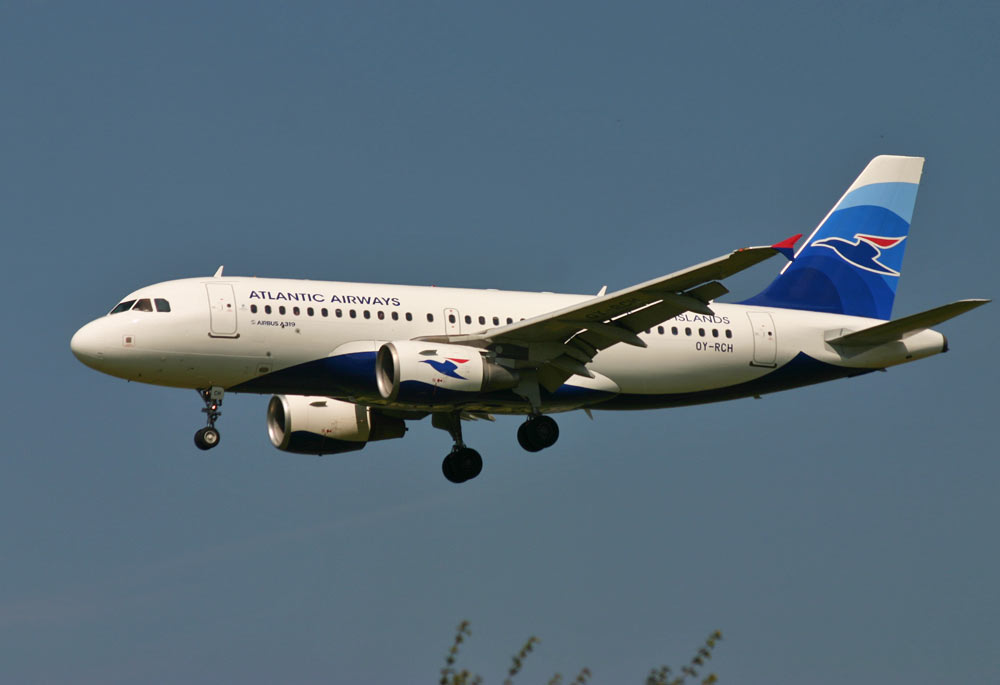 Airbus A319 Atlantic Airways OY-RCH