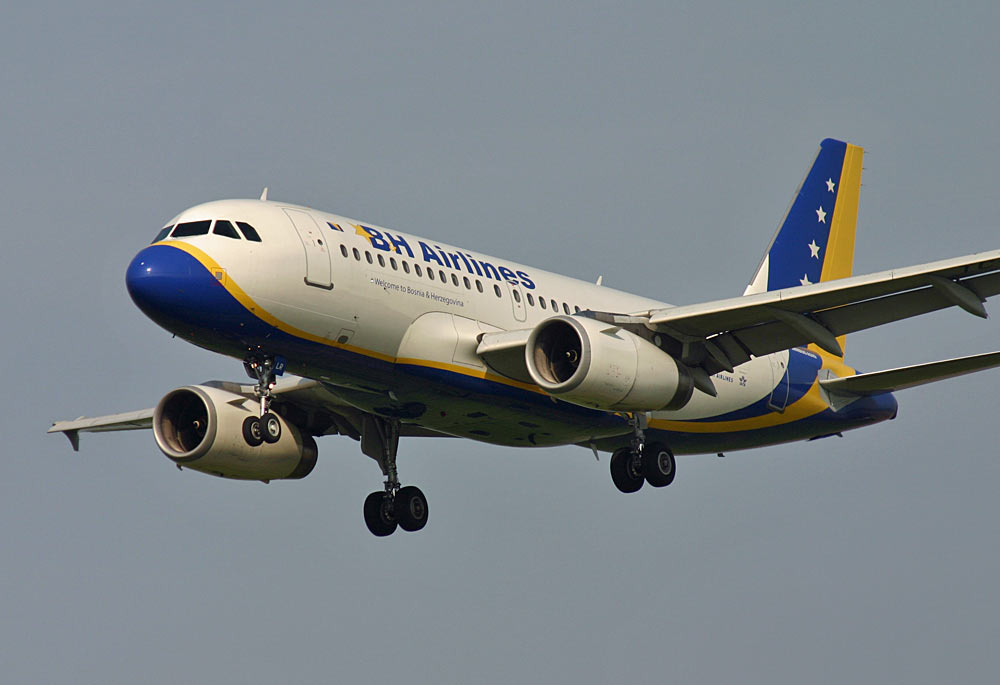 Airbus A319 B&H Airlines TC-JLR