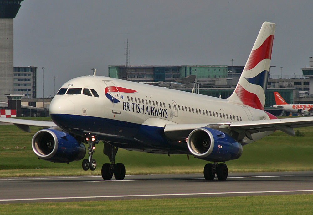 Airbus A319 British Airways G-EUOD