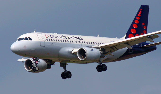 Airbus A319 Brussels Airlines