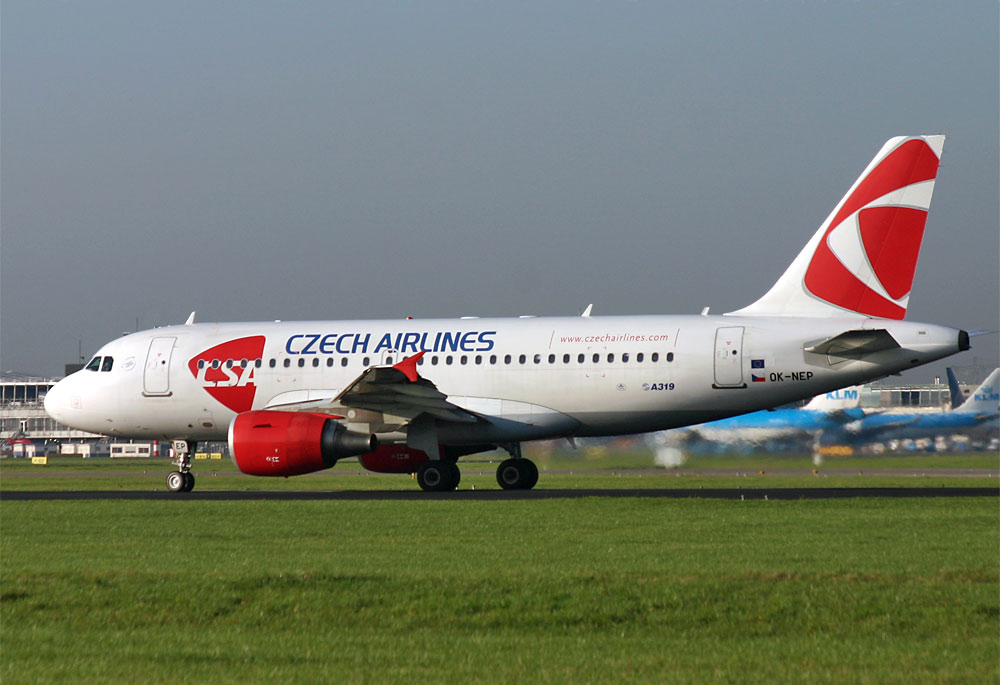 Airbus A319 CSA Czech Airlines OK-NEP