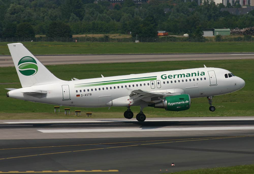 Airbus A319 Germania D-ASTB
