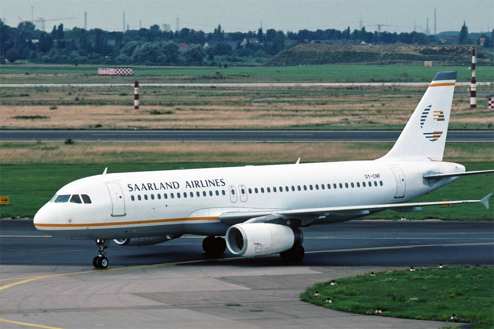 Airbus A320 Saarland Airlines