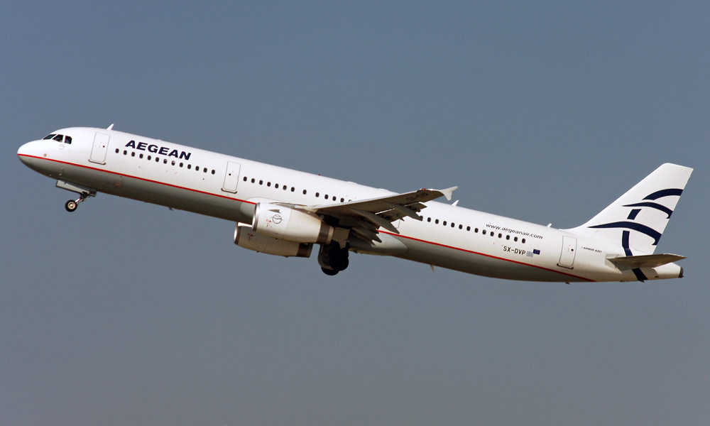 Airbus A321 Aegean Airlines