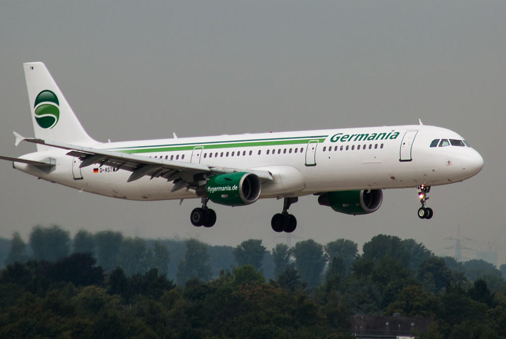 Airbus A321 Germania