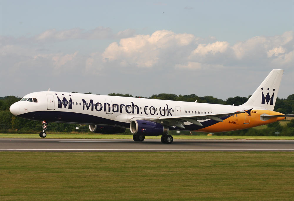 Airbus A321 Monarch Airlines
