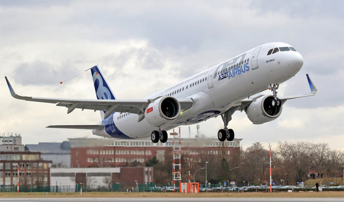 Airbus A321neo First Flight