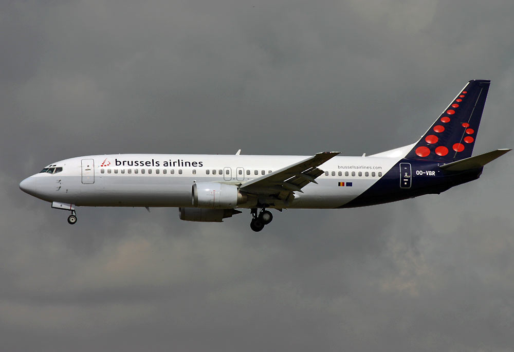 Boeing 737-400 Brussels Airlines