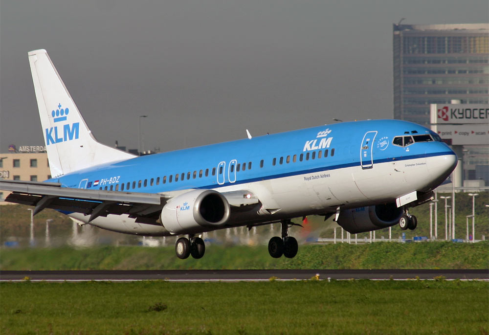 Boeing 737-400 KLM Royal Dutch Airlines