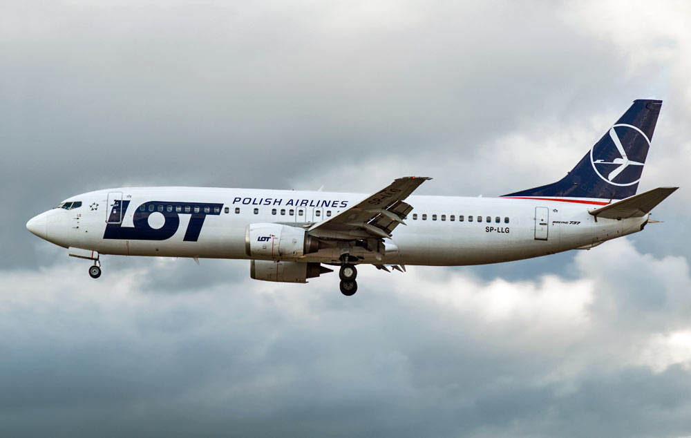 Boeing 737-400 LOT Polish Airlines