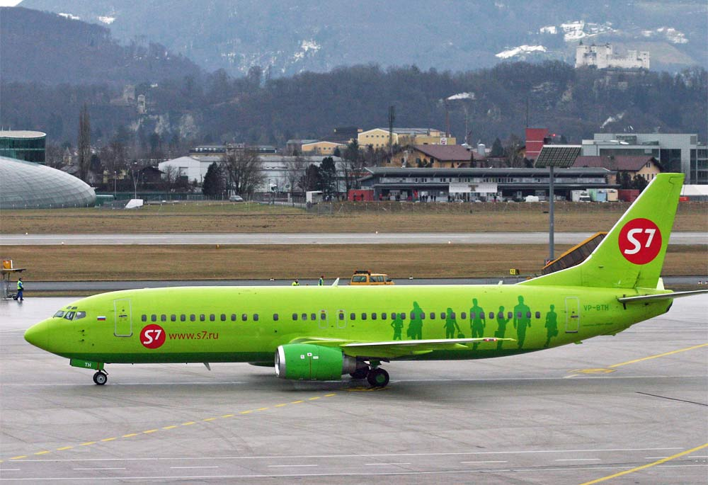 Boeing 737-400 Boeing 737-400 S7 Airlines