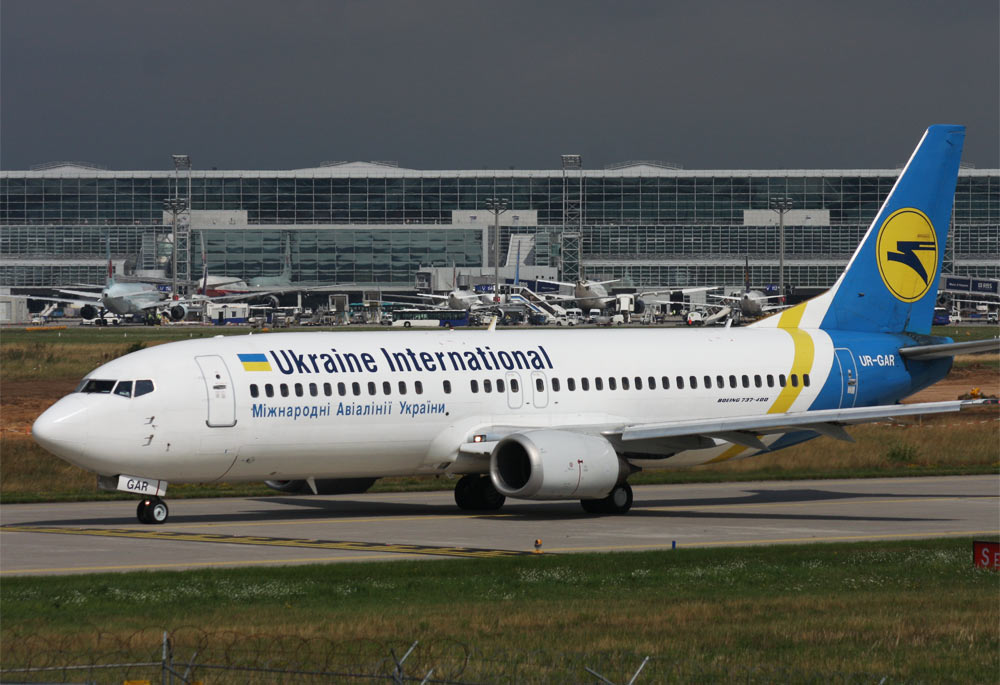 Boeing 737-400 Ukraine International