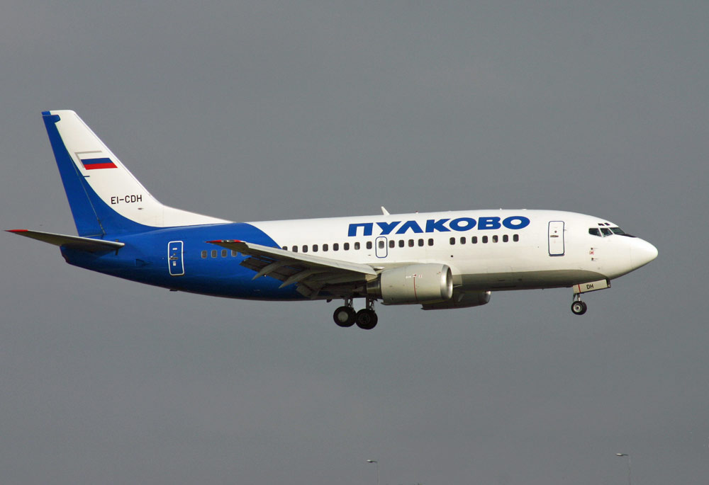 Boeing 737 Pulkovo Airlines
