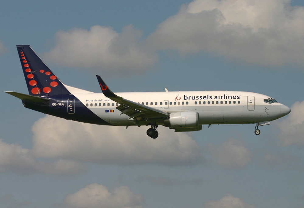 Boeing 737-300 Brussels Airlines