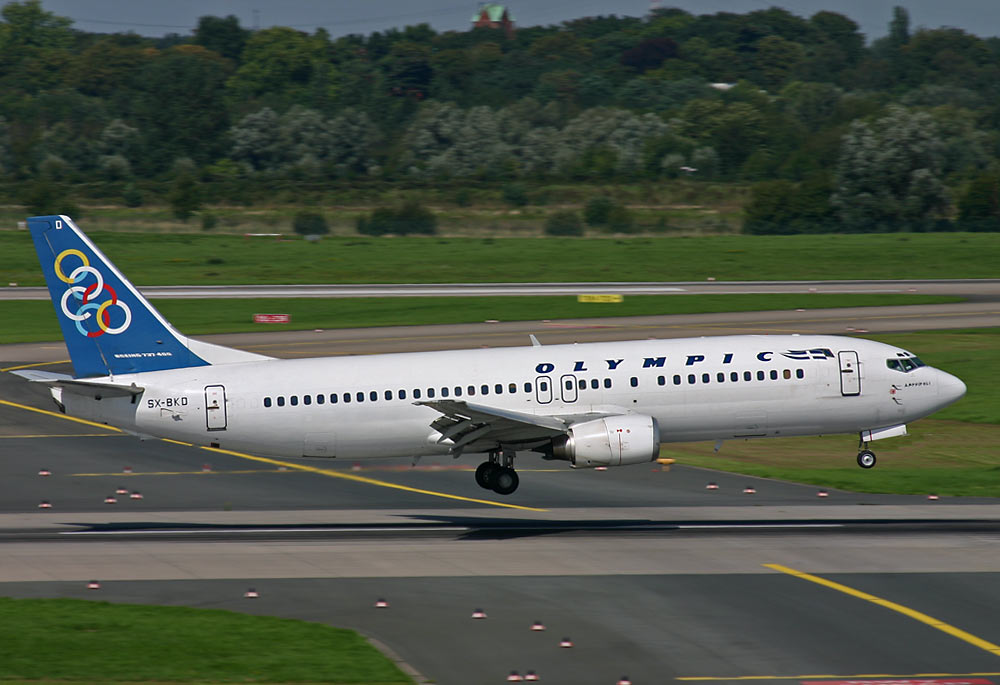 Boeing 737 Olympic Airlines