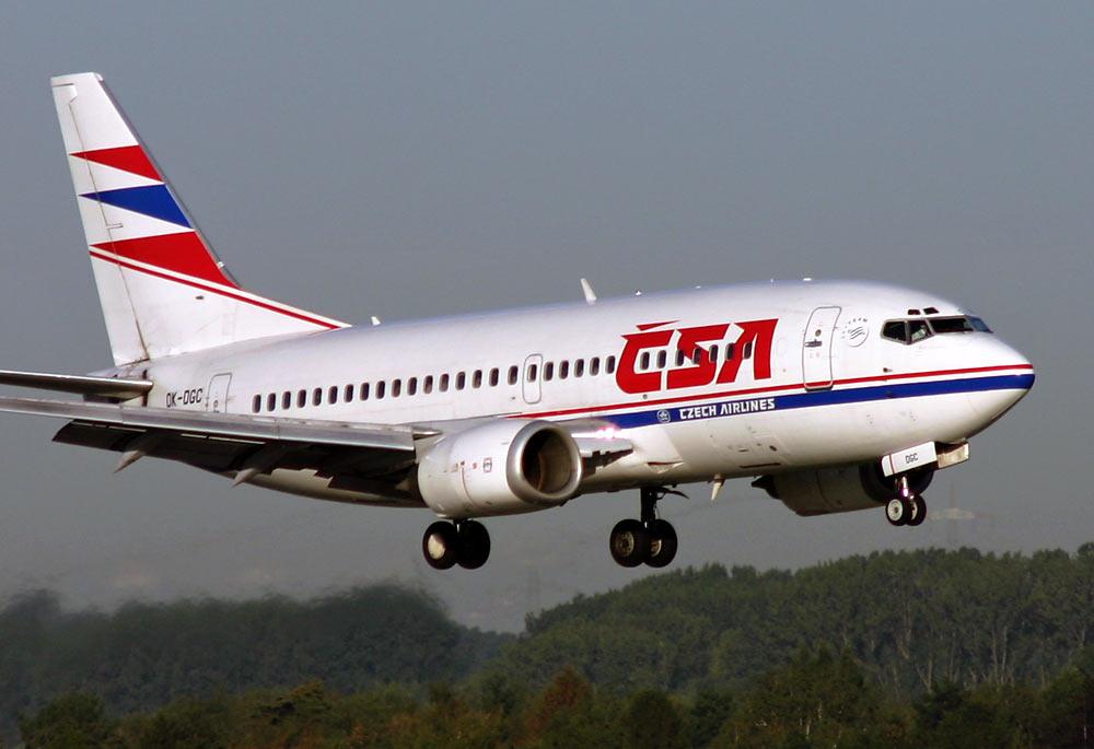 Czeskie linie lotnicze CSA