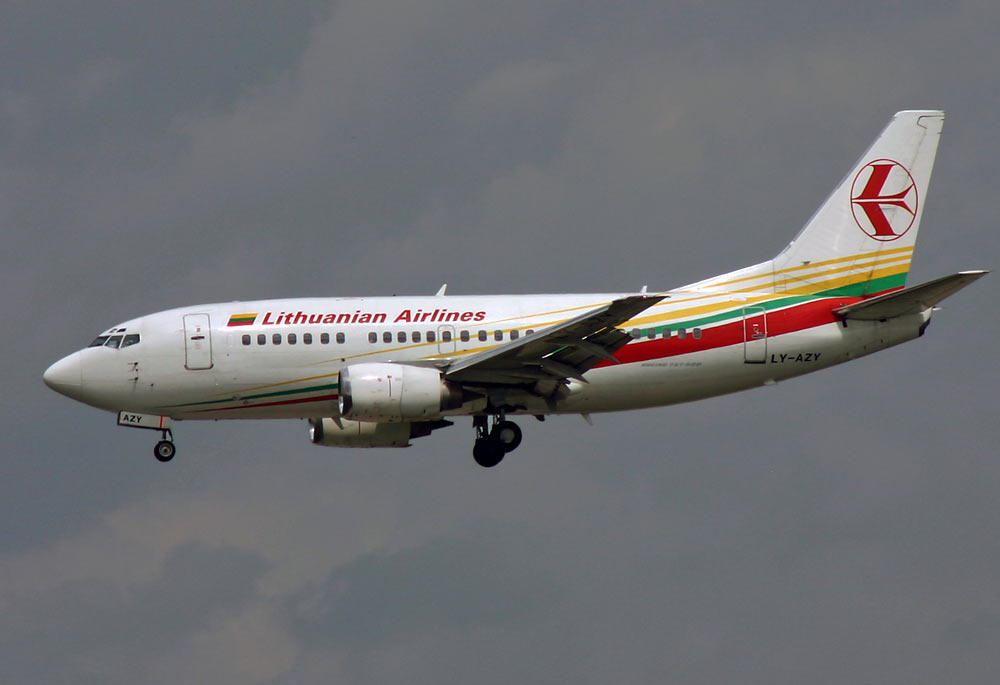Boeing 737 Lithuanian Airlines