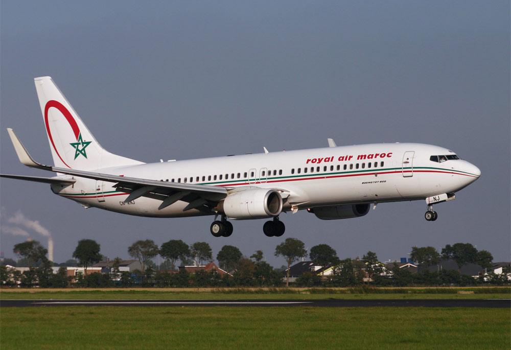 Boeing 737 800 Royal Air Maroc Airliner Gallery