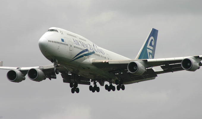 Boeing 747 Air New Zealand