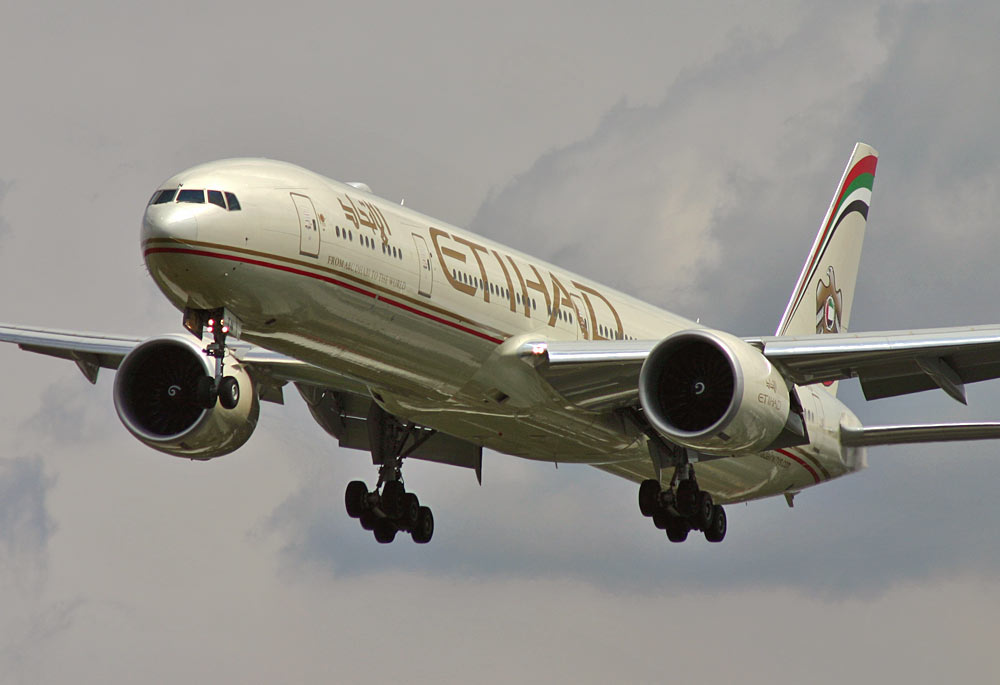 Boeing 777-300ER Etihad Airways