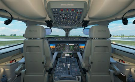 CSeries cockpit